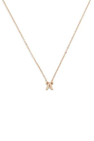 Forever21 Initial Charm Necklace