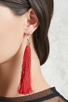 Forever21 Tassel Duster Earrings