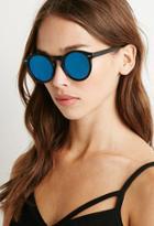 Forever21 Matte Round Sunglasses