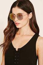 Forever21 Iridescent Round Sunglasses
