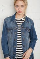 Forever21 Women's  Classic Denim Jacket
