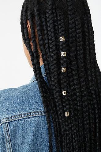 Forever21 Filigree Hair Ring Set