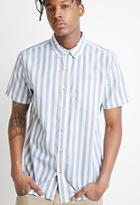 Forever21 Awning-striped Shirt