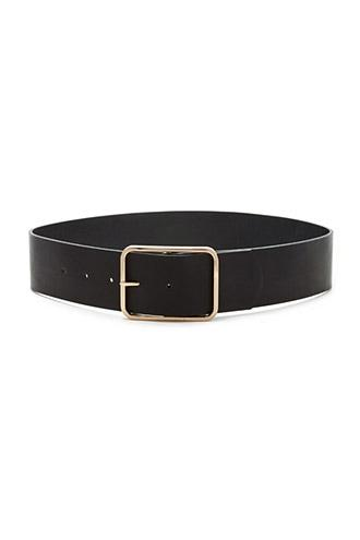 Forever21 Faux Leather Waist Belt