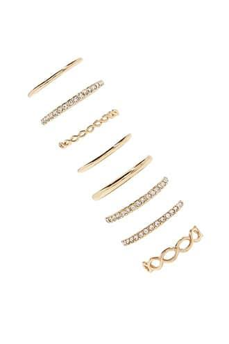 Forever21 High-polish Stackable Ring Set
