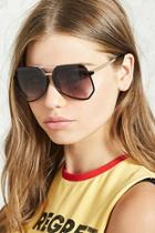 Forever21 Geometric Aviator Sunglasses