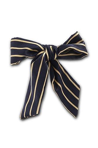 Forever21 Striped Satin Wired Hair Wrap