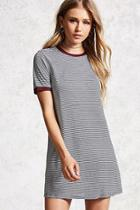 Forever21 Striped Ringer T-shirt Dress