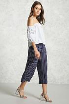 Forever21 Contemporary Pinstripe Culottes