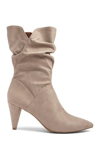 Forever21 L4l By Lust For Life Faux Suede Slouchy Boots