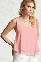 Forever21 Layered Tank Top