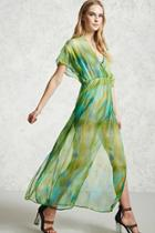 Forever21 Watercolor Maxi Dress