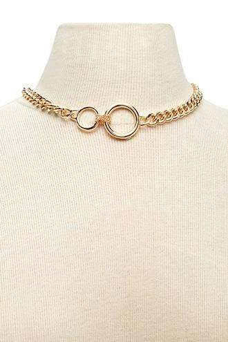 Forever21 Linked O-ring Necklace