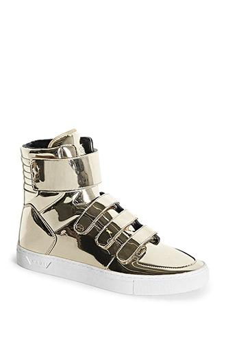 Forever21 Radii Metallic High-top Sneakers