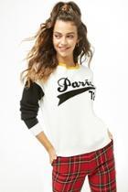Forever21 Paris Colorblock Sweater