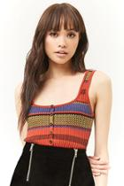 Forever21 Colorblock Sweater-knit Tank Top