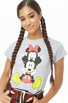 Forever21 Disney Minnie & Mickey Mouse Graphic Tee