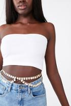 Forever21 Disc Charm Belly Chain