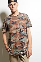 21 Men Men's  Eptm. Distressed Camo Tee