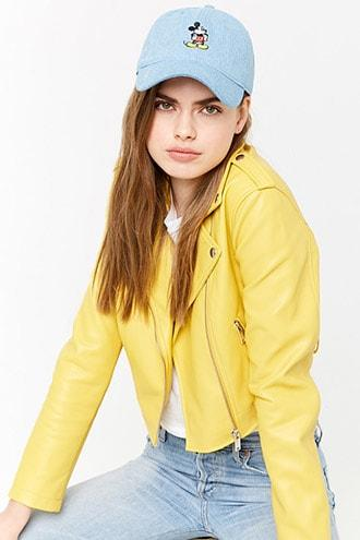 Forever21 Embroidered Mickey Mouse Dad Cap