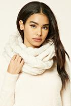 Forever21 Cable-knit Infinity Scarf