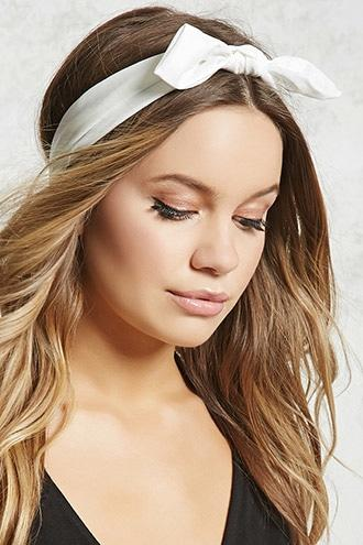 Forever21 Shimmer Bow-front Headwrap
