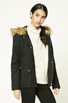 Forever21 Hooded Parka Jacket