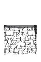 Forever21 Cat Print Makeup Pouch