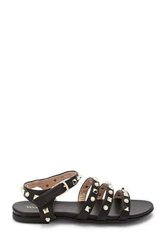 Forever21 Wanted Metallic Studded Sandals