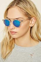 Forever21 Mirrored Clear Sunglasses