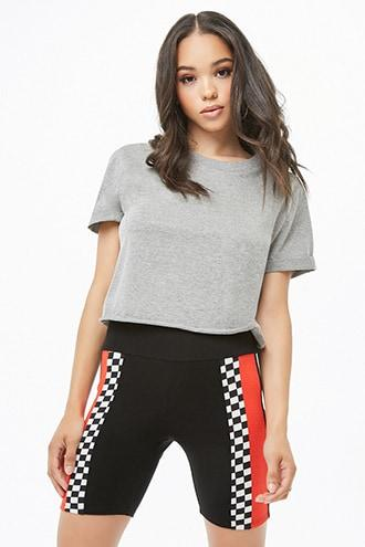 Forever21 Colorblock & Checkered Shorts