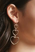 Forever21 Cutout Heart Earrings