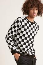 Forever21 Checkered Print Sweater