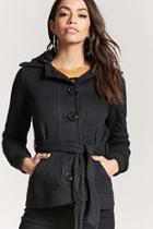 Forever21 Hooded Fleece Jacket