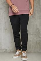 Forever21 Ribbed Moto Sweatpants