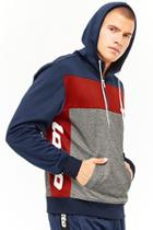 Forever21 Lotto Colorblock Hoodie