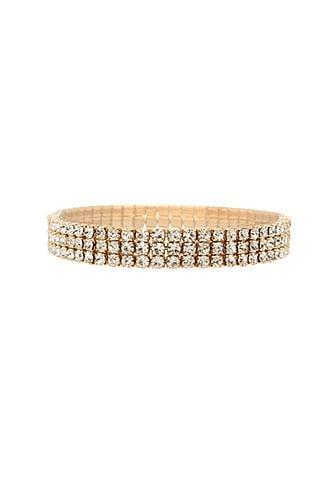 Forever21 Rhinestone Cuff Bracelet