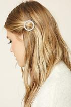 Forever21 Rhinestone Circle Hair Pin