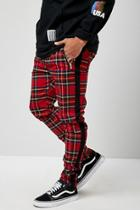 Forever21 Solid & Plaid Skinny Pants