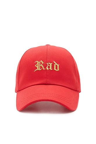 Forever21 Rad Embroidered Cap
