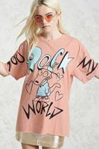 Forever21 You Rock My World Graphic Tee
