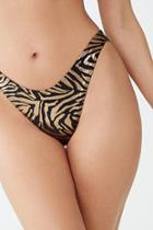 Forever21 Tiger Striped Bikini Bottoms