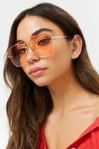 Forever21 Angled Metal Sunglasses