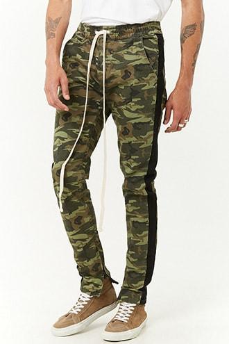 Forever21 Kayden K Camo Drawstring Pants