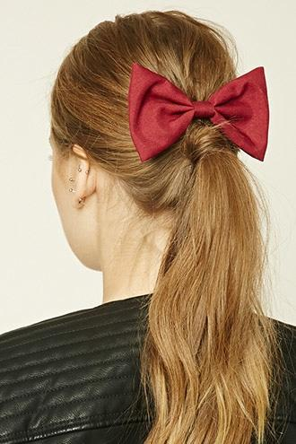 Forever21 Large Bow Barrette