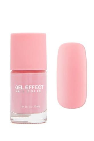 Forever21 Rose Pink Gel Effect Nail Polish