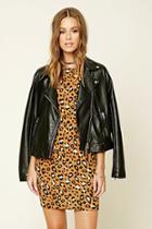 Love21 Women's  Contemporary Animal Print Dress