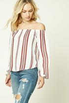 Forever21 Contemporary Striped Top
