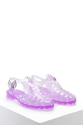 Forever21 Strappy Jelly Sandals