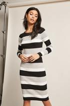 Forever21 Colorblock Stripe Bodycon Dress